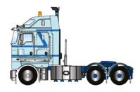 KENWORTH K200 PRIME MOVER LIGHT BLUE 2.3 CABIN (арт. Z01441)