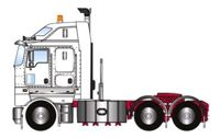 KENWORTH K200 PRIME MOVER WHITE 2.3 CABIN (арт. Z01424)