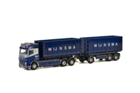 VOLVO FH 4 GLOBETROTTER 6x2 TAG AXLE HOOK PICK UP LOADING SYSTEM NEW - 3 AXLE (Containers can vary from the picture) Wijnsma Containertransport (арт. 01-2138)
