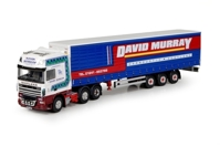 DAF XF 105 SSC TRUCK WITH CURTAINSIDE SEMITRAILER. MURRAY, DAVID (АРТ. 59166-В)