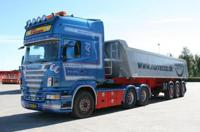 Scania new R-serie Topline with Meiller tipper 3 axles  Norrecco  (арт.  62379)