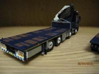 Mercedes-Benz Actros with Draco trailer.  Bordbusters   (арт.  60126CHER)