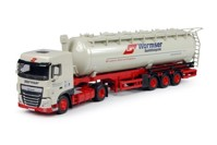 DAF Euro 6XF Space Cab with silo trailer  Wormser  (арт.  64957)