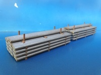 Aluminium rod 44x108x33 mm - 2 Pc  (арт.  19533)