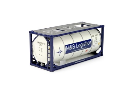 20ft. Iso-tankcontainer  M&S Logistics  (арт.  64606)