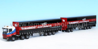 Scania 144 Slaapcabine 6x4 / Road Train  (арт.  1342)