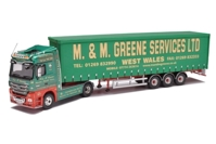 MERCEDES ACTROS (FACE LIFT) VINYL CURTAIN - M AND M GREENE   (арт.  13821)