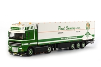 DAF XF 105 Super Space Cab Reefer Trailer Carrier (3 axle) Paul Imming  (арт. 01-1293)