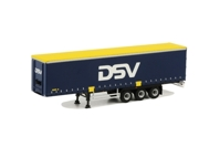 Curtainside Trailer (3 axle) DSV (арт. 04-1017)