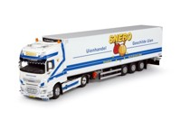 DAF Euro 6 XF Super Space Cab with reefer semitrailer Snebo  (арт.   65884)