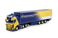 DAF Euro 6 XF Super Space Cab with reefer semitrailer Iterson, Dinant van  (арт. 70417)