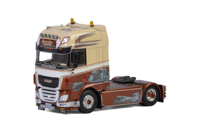 DAF XF SUPER SPACE CAB 4X2 SMOKY TRANSPORT (арт. 05-0074)
