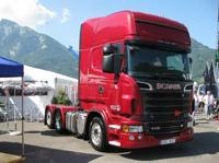 Scania new R-Serie Topline with reefer semitrailer.  Routiers Suisses  (арт.  62942)